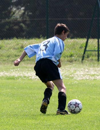 Langzeitsportler wie Fußballer haben oft eine Sportlerleiste