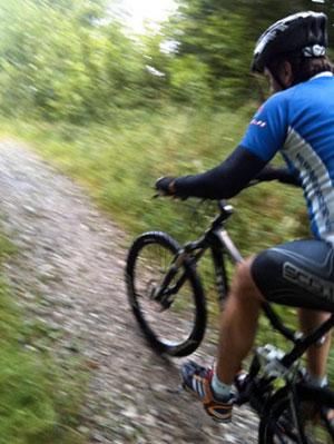 Radfahren steigert die Fitness